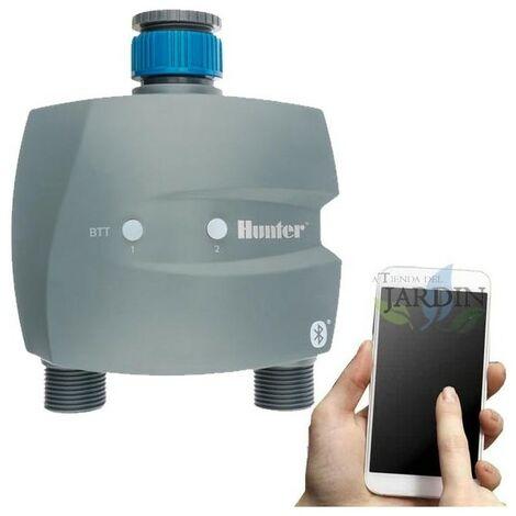 Programmateur de robinet à 2 zones contrôlé par Bluetooth BTT-201 Hunter