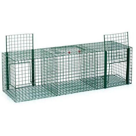 Cage capture les pigeons 3 départements 90 x 30 x 30 cm