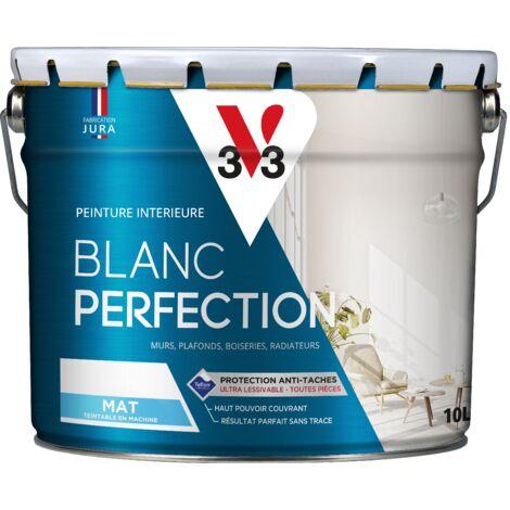 Peinture intérieure Blanc perfection® Blanc mat 10 L V33 - Blanc