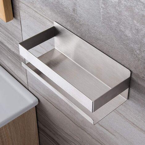 SOEKAVIA Panier de douche Étagère de douche autocollante sans perçage Étagère de douche pour salle de bain