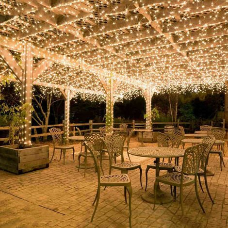Guirlande Lumineuse Carnaval Mariage Extérieur Jardin Intérieur Éclairage SOEKAVIA - 20M 200 LED