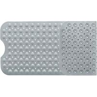 SOEKAVIA Tapis de bain, tapis de bain avec 200 ventouses Insert de bain Tapis de douche antidérapant 100 x 40 cm (gris)