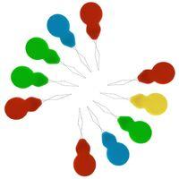 SOEKAVIA 20Pcs Enfile Aiguille, Enfile-Aiguille pour Aiguille, Enfile-Aiguilles à Fil Enfile-Aiguille pour Couture à la Main, Fil, Broderie, Point de Croix(Couleur aléatoire)