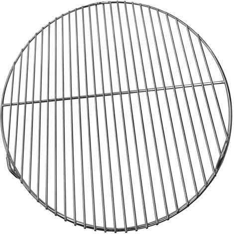 color argento mini rete rotonda per pesce verdure UPKOCH Griglia per carne portatile