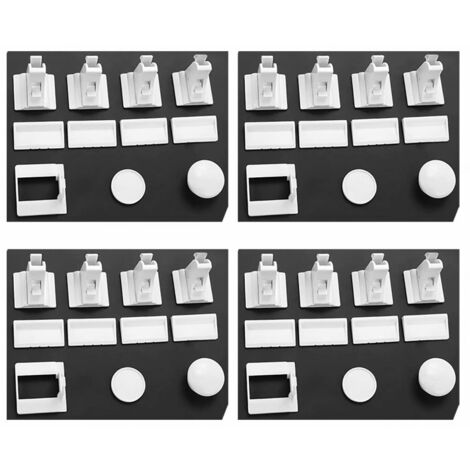 ILoveManoMano Serrure de sécurité de l'armoire Serrure magnétique pour enfants Sécurité Verrouillage du tiroir invisible Serrure de sécurité pour aimant bébé