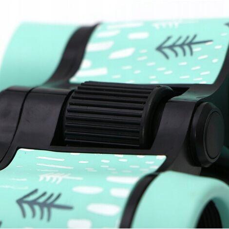 ILoveMilan Jumelles télescope pour enfants impression couleur télescope pour enfants 4 * 30 rose