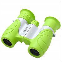 ILoveMilan Jumelles télescope pour enfants télescope d'extérieur jouet d'extérieur pour enfants, 10x22 vert