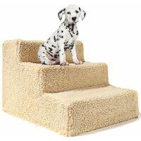 ILoveMilan Chats et chiens Échelle d'escalade Escaliers Plateformes de saut pour animaux de compagnie Escaliers pour animaux de compagnie Chiens Marches de rampe Produits pour animaux de compagnie, jaune