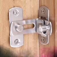 Le verrou de la porte 90 Verrouiller la porte Verrouillage de la porte à angle droit en bas(S)