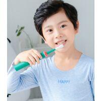 ILoveMilan Brosse à dents électrique pour enfants (brosse à dents électrique pour dinosaures)