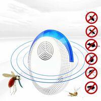 Agent de protection des insectes ultrasons de ILoveMilan, anti-souris, moustique, anti-moustique, piège de souris, artefacts de piège de souris, chat électronique (2 pièces)