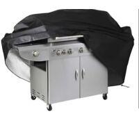 ILoveMilan Couvercle de grill à la cuve d'extérieur de mobilier à la poussière Barbecue Couverture Grill Couvre-écran Regensproof Cache solaire 100x60x150cm