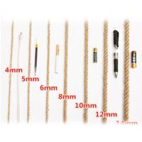 ILoveMilan Corde de chanvre décoratif 3mm (200M corde de chanvre décoratif corde de sisal épaisseur rétro corde de jute fait à la main bricolage tag corde éclairage corde de chanvre corde de griffe de chat