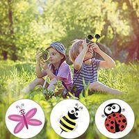 ILoveMilan Télescope couleur pour enfants Jumelles 5x30 Télescope extérieur pour enfants bleu