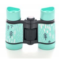 ILoveMilan Jumelles télescope pour enfants impression couleur télescope pour enfants 4 * 30 vert