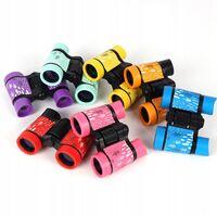 ILoveMilan Jumelles de télescope pour enfants à impression couleur télescope pour enfants 4 * 30 violet