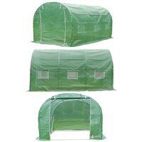 VOUNOT Polytunnel Greenhouse Gardening Walk In Tent, 3x2x2m 6m²
