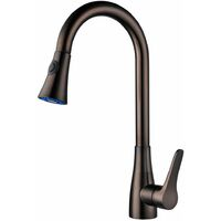 Copper countertop sink mixer tap - Saona