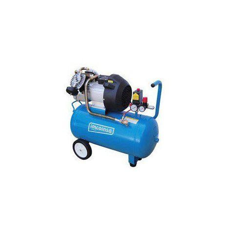 Compresor con cilindros en V 0453 3 HP 50 Litros Imcoinsa