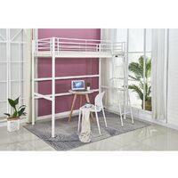 Letto a soppalco Alora - 90 x 190 cm - Bianco