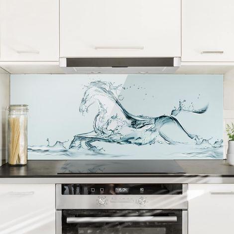 Crédence en verre - Glassy Ross - Panorama Dimension: 40cm x 100cm