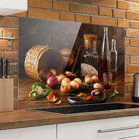 Crédence en verre - Fragrances de Cuisine - Paysage 2:3 Dimension: 40cm x 60cm