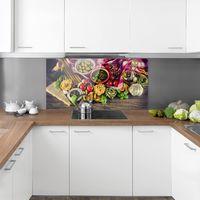 Crédence en verre - Pasta - Paysage 1:2 Dimension: 40cm x 80cm