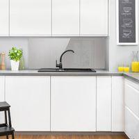 Crédence en verre - Agate Gray - Panorama Dimension: 40cm x 100cm