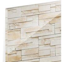 Crédence en verre - Provence Stones - Panorama Dimension: 40cm x 100cm