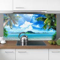 Crédence en verre - Dream Vacation - Paysage 1:2 Dimension: 40cm x 80cm