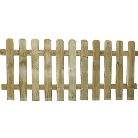 steccato in legno ranch cm 85x50h recinto recinzione staccinata giardino esterno
