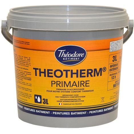 Theotherm Primaire - 3L : peinture primaire murs et façades avant Theotherm intérieur ou extérieur