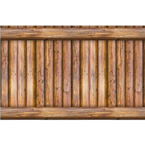Triomphe 3D imperméable à l'eau motif de brique stickers muraux auto-adhésif nostalgique papier peint café bar restaurant PVC papier peint 45 CMX10 mètres (SA-1016 bois antique
