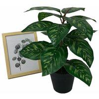 Plante artificielle simulation de fleur faux en pot grand paon tournesol plante verte en pot simulation plante fleur