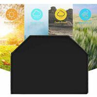 Triomphe Mobilier anti-poussière grill de la couverture de grill de gril grill de la couverture de gril de grillades de protection solaire Regensproof 117x61x145cm
