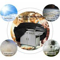 Triomphe Mobilier anti-poussière Couvercle de couverture Grillades Grillades Grillades Régrent Sunscreen Cover 117x61x170cm