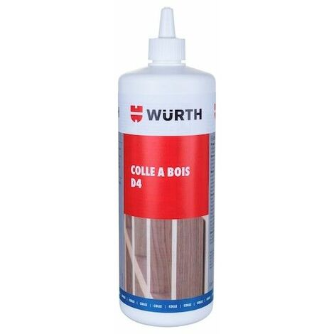 Colle à Bois Exterieur Ultra Monocomposant D4 Bidon 1 Kg Wurth