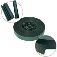 Kit brise vue occultant en PVC vert - vert