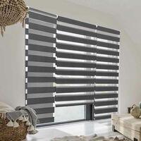 Store enrouleur occultant gris 60 x 120 - gris
