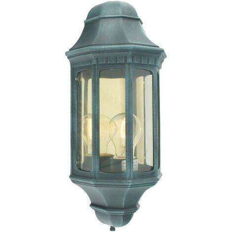 Elstead - 1 Light Outdoor Wall Lantern Verdi IP44, E27