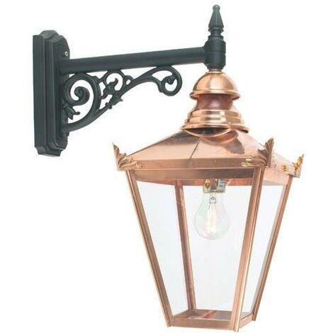 Elstead - 1 Light Outdoor Wall Lantern Light Copper IP44, E27