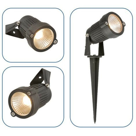 Knightsbridge LED Wall/Spike Spotlight, 230V IP54 4W