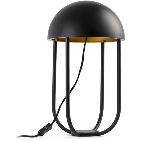 Faro Jellyfish - LED Table Lamp Black, Gold