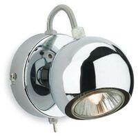 Firstlight Magnetic - 1 Light Single Switched Spotlight Chrome, GU10