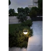 Faro Piccola - Outdoor LED Spike Black 6W 2700K IP65