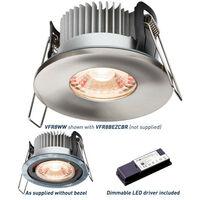 Knightsbridge Fire-Rated Downlight 2700K, PROKNIGHT LED IP65 8W