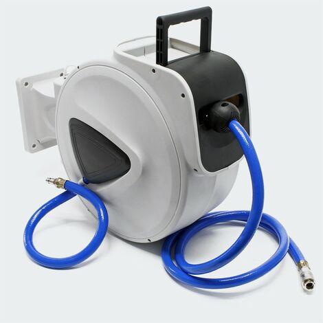 Enrouleur Dévidoir Portable Tuyau Pneumatique ,16 mm, 20 mètres