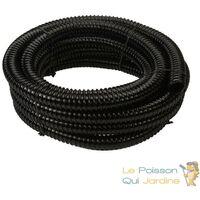 50 Mètres De Tuyau, 25 mm, PVC Souple, Pour Aquarium, Bassin De Jardin - Noir