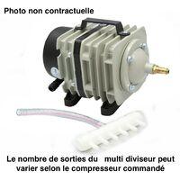 Compresseur - pompe à air 3600 l/h pour bassins de jardin et étangs