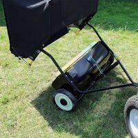 Remorque Ramasse feuilles, pelouse 120 cm pour tondeuse auto portée